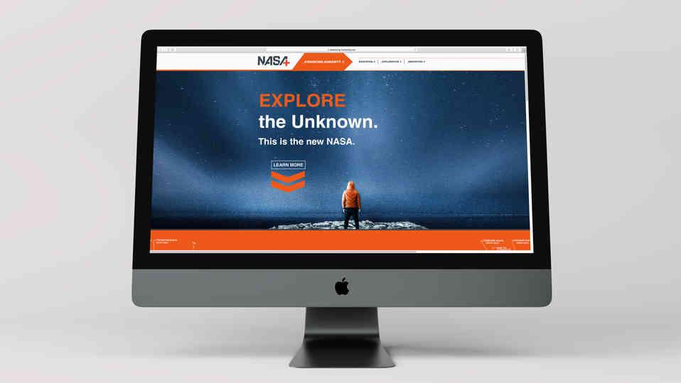 NASA re-brand