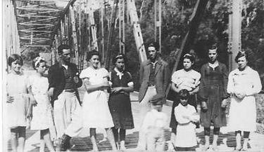 Ponte de ferro em 1939