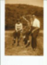 Lezy, Lyane com o pai Alfredo, 1957 ou 1