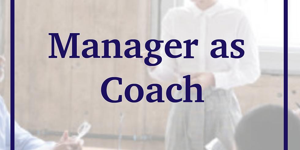 Manager as Coach Webinar