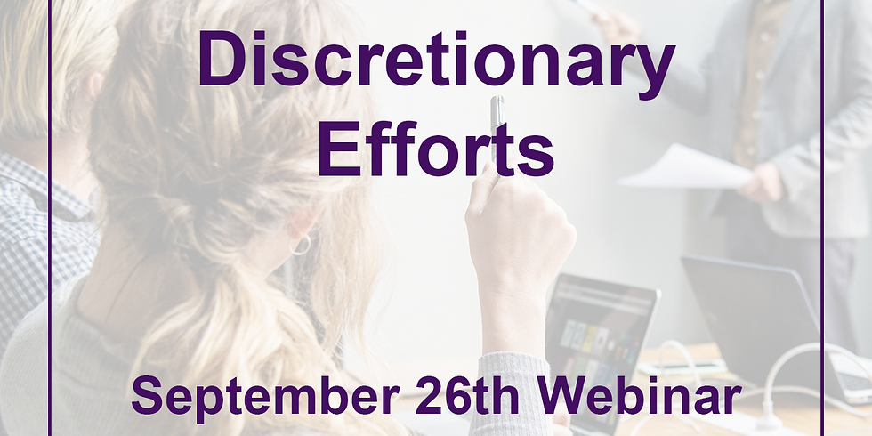 Sept. 26th Webinar with Dave Nast