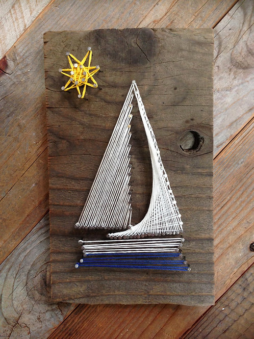 String Art - Sailboat