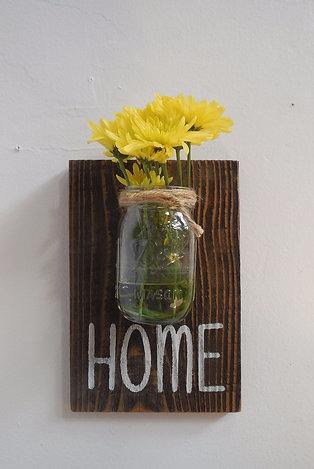 Home - Ball Jar Sign