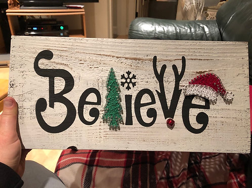 String Art - Believe