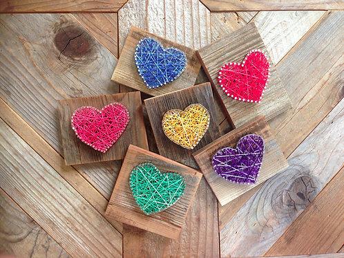 String Art - Heart Single
