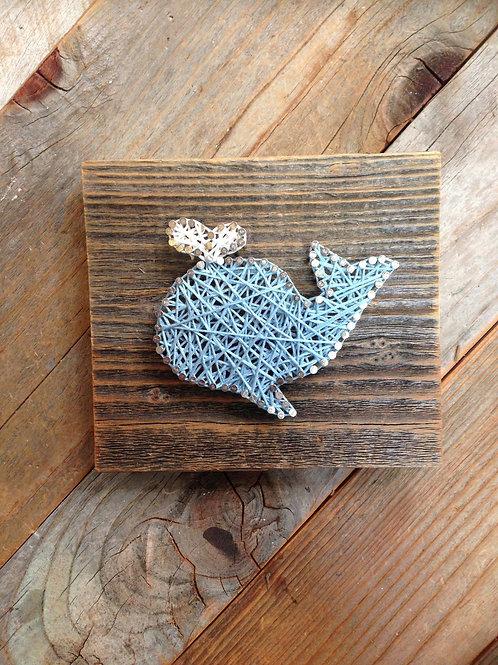 String Art - Whale
