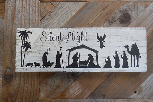 Sign - Silent Night