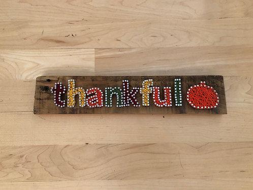 String Art - Thankful