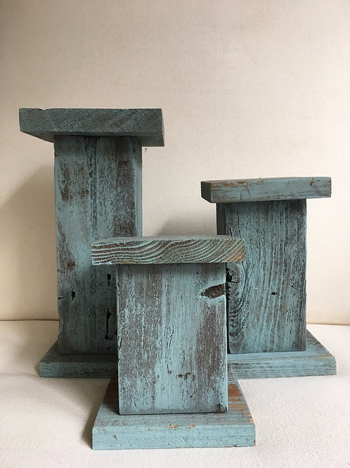 Pedestal Trio Set