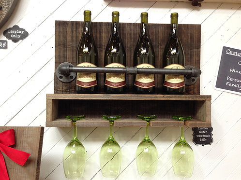 Wine Rack 4 Bottle