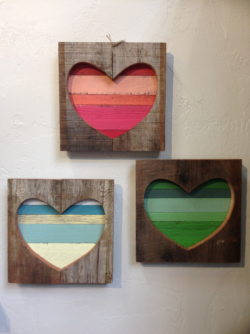 Framed Heart | Reclaimed Wood Products - Capitola, CA - Reclaimed in ...