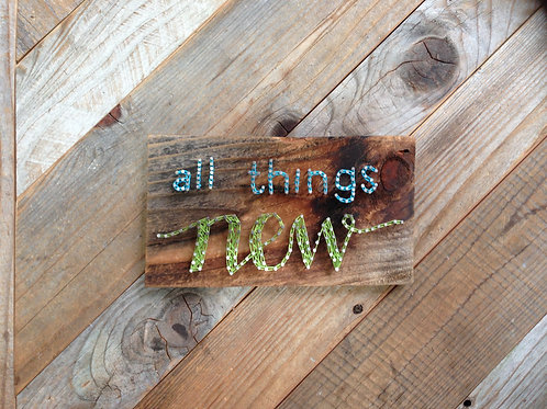 String Art - All Things New