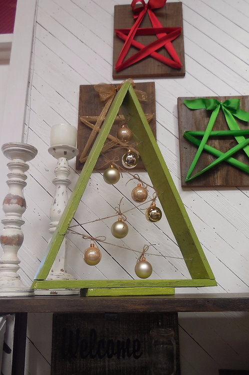 Framed Tree Ornament Holder (with ornaments)