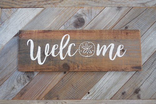 Welcome Sign - Themed
