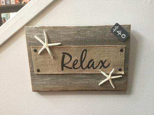 Burlap Relax