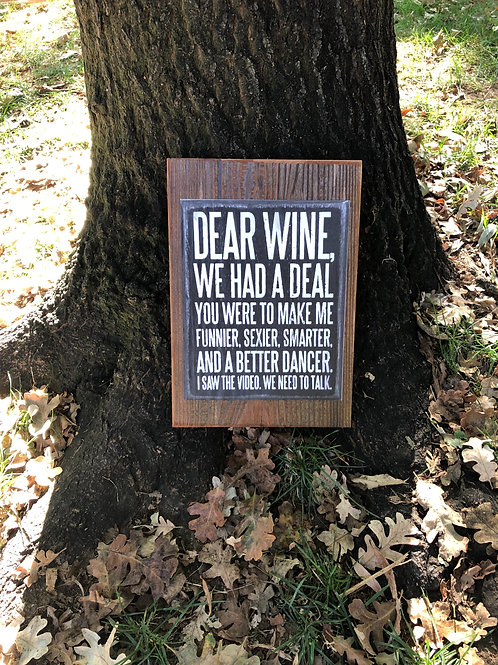Dear Wine