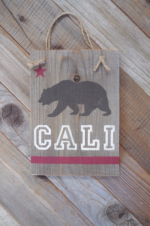 Cali Bear Sign