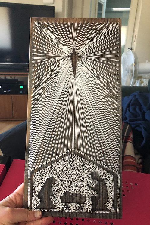 String Art - Nativity
