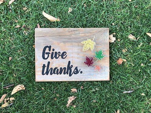 String Art - Give Thanks