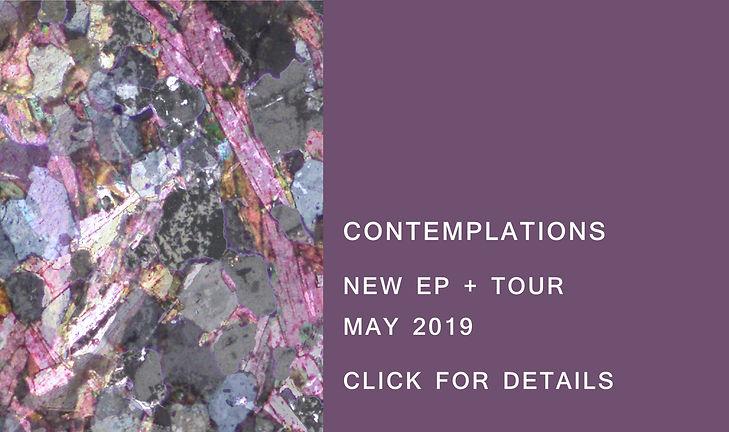 Mogerlaine - Contemplations EP + Tour Release Banner