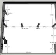 Plan de salle (cm)