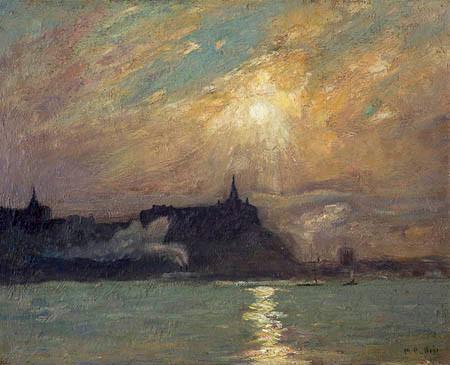 Maurice G. Cullen, 1900