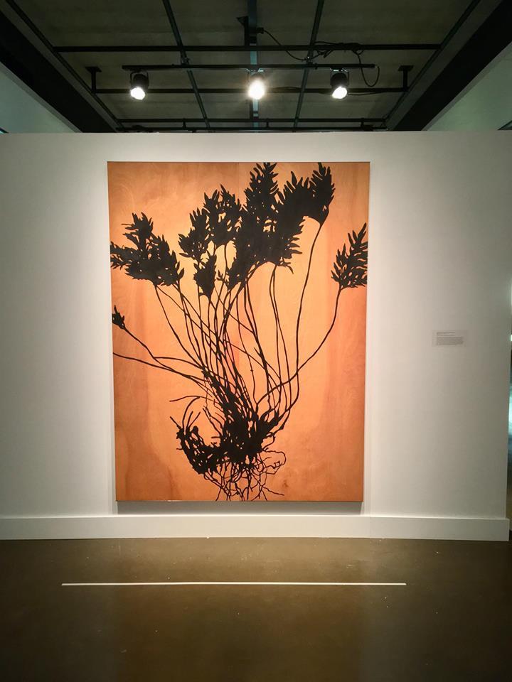 Monique Mongeau, «L'herbier», années 1990