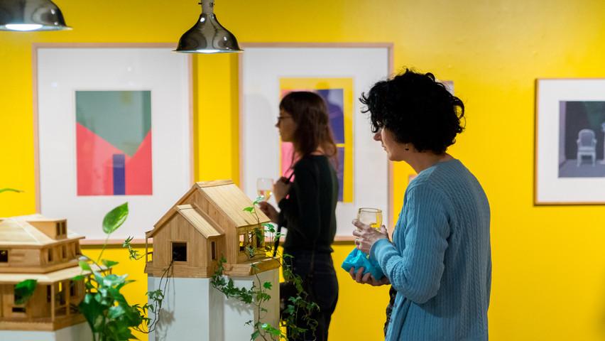 Magali Baribeau-Marchand et Sarah Létourneau, «Les Maisons», (2015)
