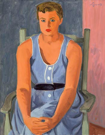 John Lyman, Les Yeux bleus, 1953