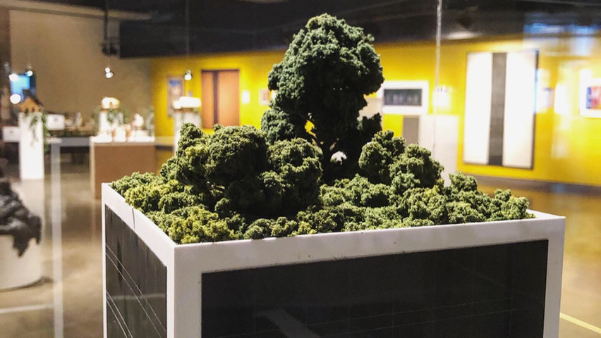 Mathieu Latulippe, «Etude pour la réalisation d'un building en plastique biodégradable»