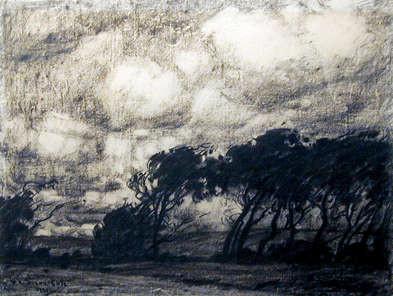 Marc-Aurèle de Foy Suzor-Côté, La Tempête, 1921