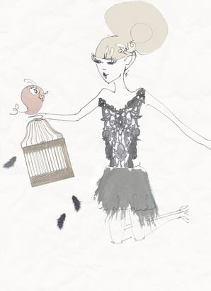 La fille et l'oiseau.jpg