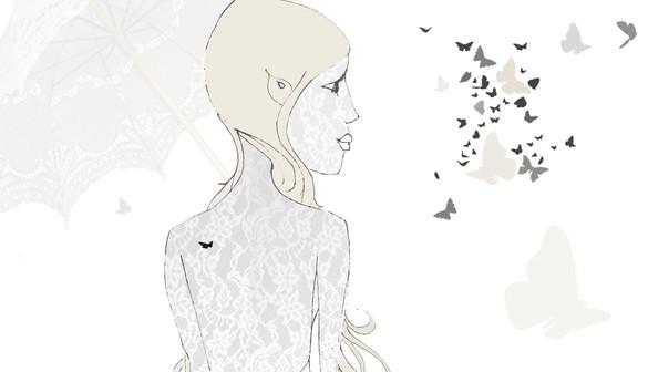 Elfe aux papillons