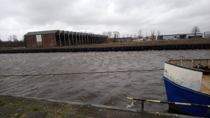 storm in Breda