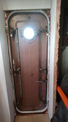 mooie mechaniek binnenkant deur