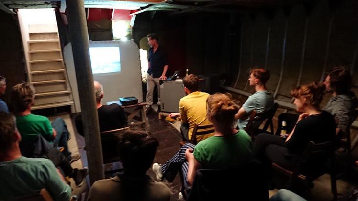 lezing / boekpresentatie van Jaco Benckhuijsen over zijn bijzondere solo zeekayak-tochten.