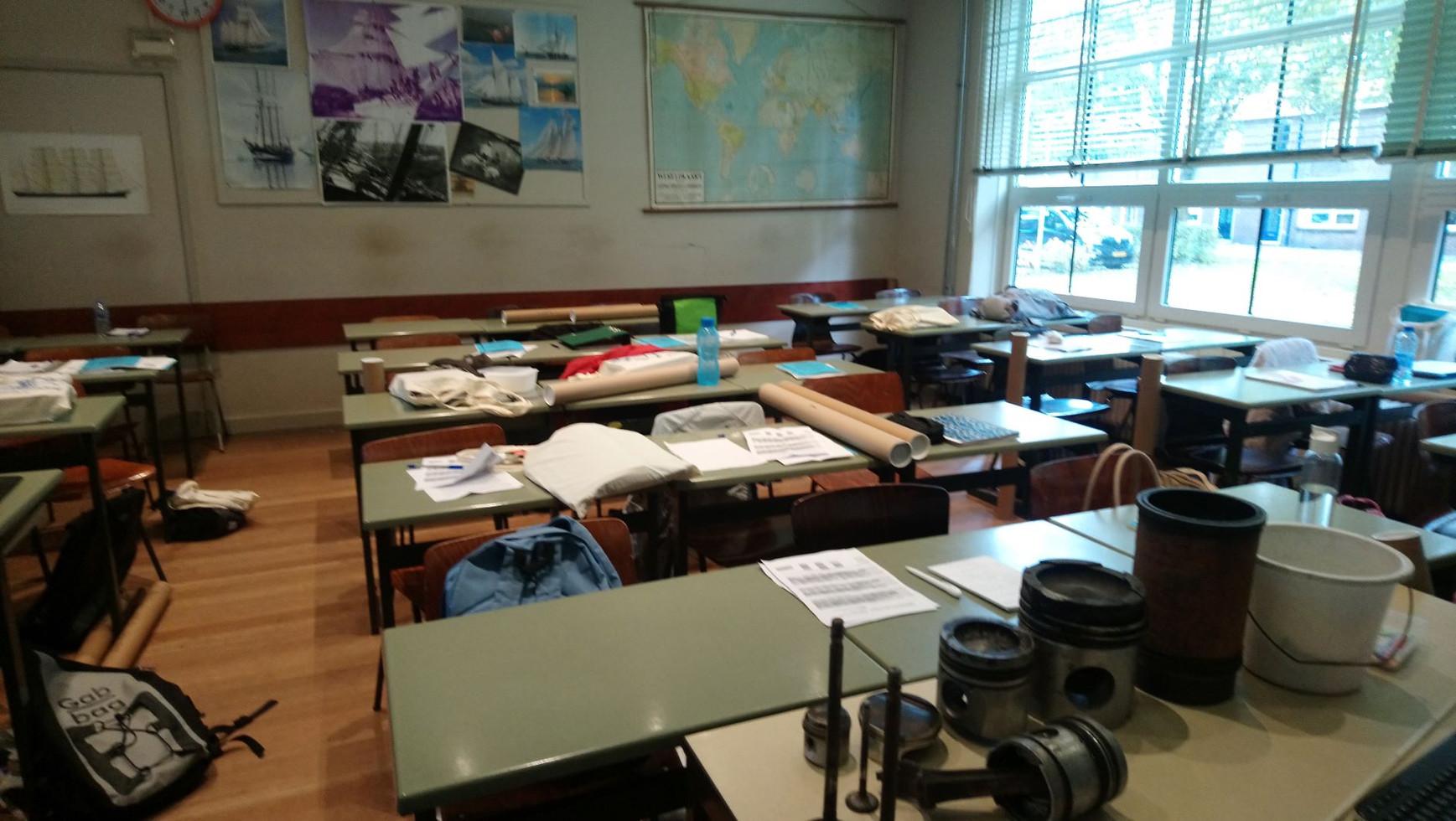 opleiding KZV aan de Enkhuizer Zeevaartschool.