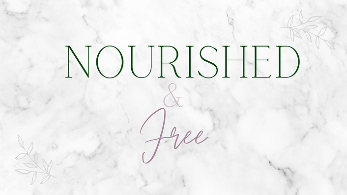 Facebook Banner for Nourished and Free.p