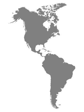 Gaichu AMERICAS Map Coverage