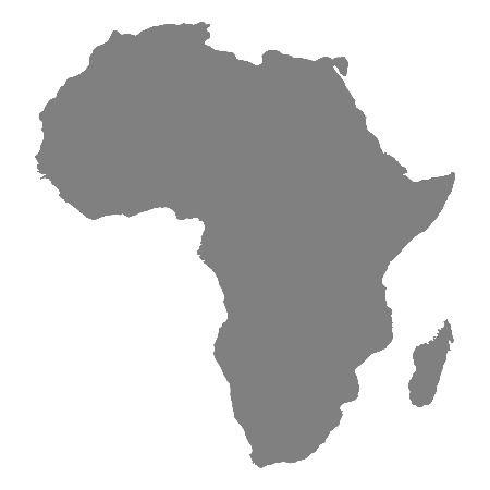 Gaichu AFRICA Map Coverage