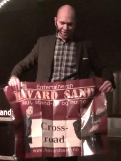 Stand-up trylleshow med Håvard Sand