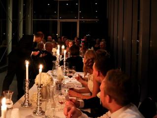 Underholdning og toastmaster i bryllup