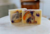 lavender & orange soap