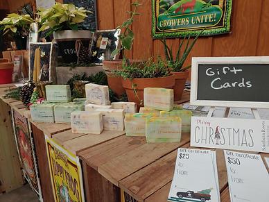 handmade gardener soaps