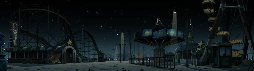 Amusement Park (Night)