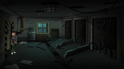 Shack Backroom