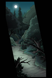 Night Forest Pan