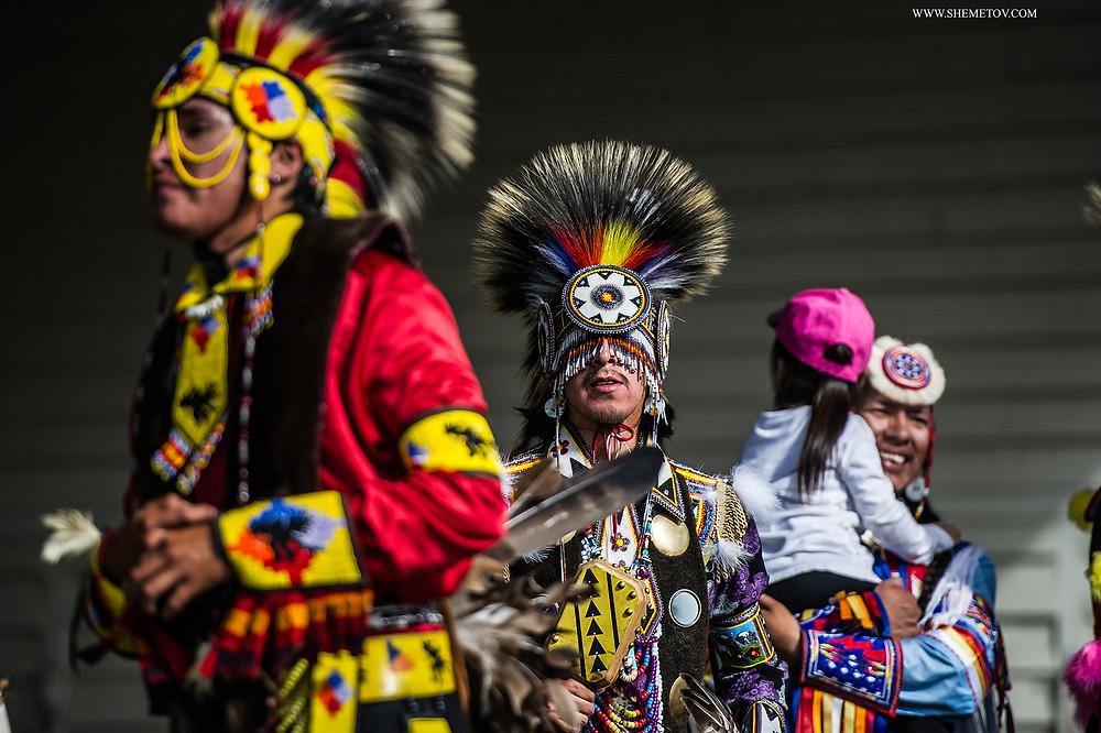 Calgary Stampede. Indigenous