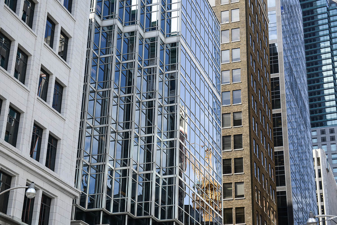 Toronto, Ontario, ON, Canada, city view, buildings, reflections, downtown, windows.jpg