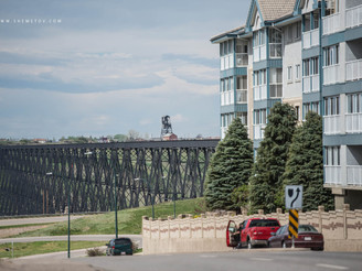 Cross-Canada. Lethbridge Viaduct